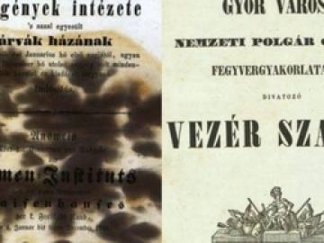 Ecker János győri lokálpatrióta polgár kortörténeti naplói az 1847-1850 közötti évekből 2