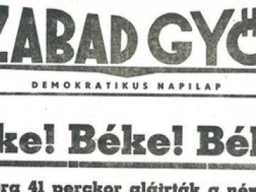 Elindult a Szabad Győr című napilap