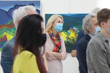 Két hazában - Gaál András festőművész kiállítása 08
