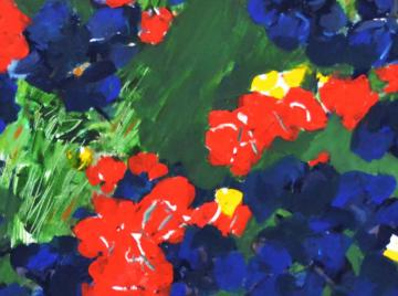 Gaál András kiállítása - Virágok