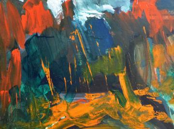 Gaál András kiállítása - Erdő széle