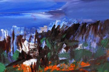Gaál András kiállítása - Az erdő pusztulása