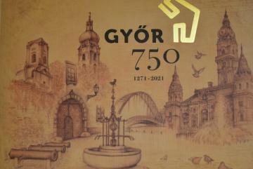 Győr 750 album 01