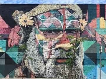 Mural das Etnias 07