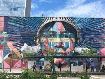 Mural das Etnias 03
