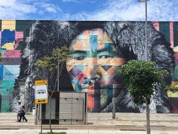 Mural das Etnias 04
