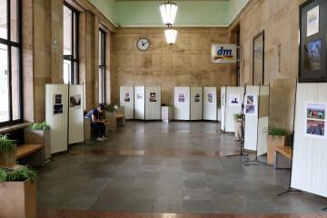 Baross Gábor-emlékfal és MÁV ART kiállítótér 22