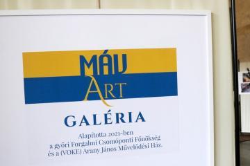 Baross Gábor-emlékfal és MÁV ART kiállítótér 12