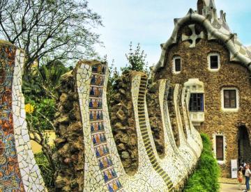 Antoni Gaudí: Park Güell 06