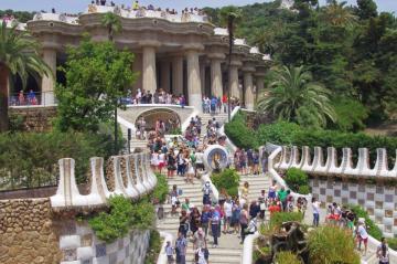 Antoni Gaudí: Park Güell 07