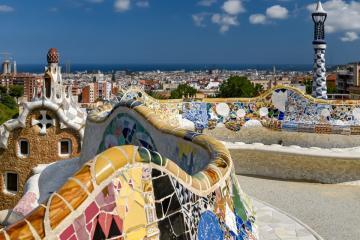 Antoni Gaudí: Park Güell 02