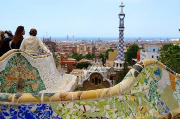 Antoni Gaudí: Park Güell 09
