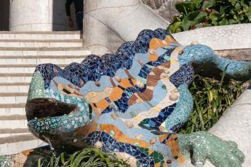 Antoni Gaudí: Park Güell 03