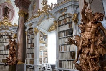 Az admonti bencés apátság könyvtára 09